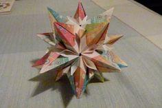 Origami Fantasy de Tomoko Fuse realizado por Erika Karnauchovas