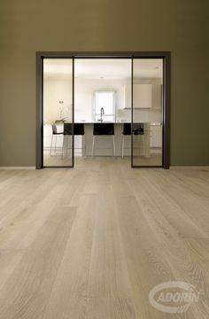 WOODEN FLOOR - European Select Oak, Rock. PAVIMENTO IN LEGNO - Rovere Select Europeo, Pietra. #cadorin hardwood three layers floors