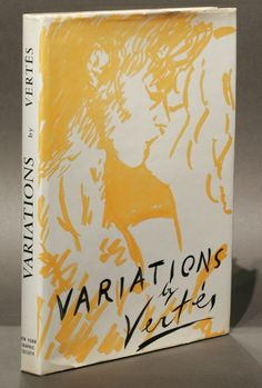 "Variations: Drawings, water colors, etchings and lithographs by Marcel Vertès. Text by Claude Roger-Marx. Greenwich, CT: New York Graphic Society, (1961). Limited first edition. Original dust jacket. ""And if Vertes's drawings… are certain not to become antiquated or, more exactly, to do so gracefully, it is because, behind this modern 'new look' and these superficial changes, the philosopher and the poet have never ceased to stress…what is most universal, most fixed and immutable."""