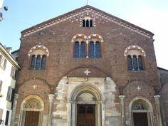 Basilica di San Simpliciano, Milano. IV sec.viene fondata ta Ambrogio e in seguito modificata in epoca romanica e longobarda.