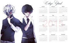 Yearly Calendar Wallpaper 2015 - Bleach by edinaholmes on DeviantArt 2015 Wallpaper, Calendar Wallpaper, Wallpapers, Yearly Calendar, Bleach, Deviantart, Games, Anime, Plays
