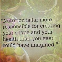 """So True!  As Hippocrates said """"Let food be your medicine and medicine be your food"""""""