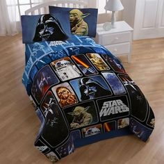 @Overstock - Bring the force to your bedroom decor with this Star Wars bed in a bag set. This thrilling bed in a bag set is made with comfortable polyester microfiber. http://www.overstock.com/Bedding-Bath/Star-Wars-Collage-5-piece-Full-size-Bed-in-a-Bag-with-Sheet-Set/6668651/product.html?CID=214117 $89.99