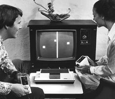 Worlds First Home Video Game Console Magnavox Odyssey (1973).  I think we still have this.