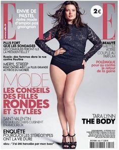 collegiate chic  Elle France Goes Big Full Figured b50c67504a04