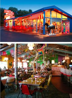 "Lynns Paradise Cafe in Louisville, KY. Fun place, GREAT food! I'm adding it to my ""must-stop's"" when driving through KY."