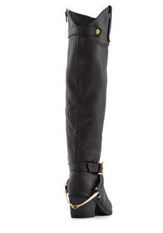 Fall Foal-iage Boot in Black, #ModCloth - Nice! - Size 7
