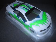 Rc body paint by maiden airbrush