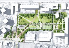Urban landscape design plans parks 28 New ideas Landscape And Urbanism, Landscape Design Plans, Park Landscape, Landscape Architecture Design, Concept Architecture, Urban Landscape, Landscape Architects, Classical Architecture, Ancient Architecture