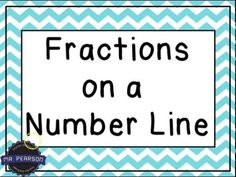 Fractions on a Number Line 3rd Grade Math Teaching Tutorial for Kids Third Grade - YouTube