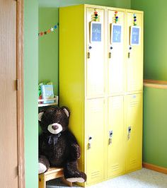 The Cottage Market: 25 Upcycled Lockers and Card Catalogs It's SCHOOL TIME!