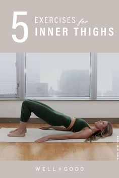 The many reasons why you shouldn't sleep on inner thigh workouts inner thight workout per il fitness Inner Thigh Lifts, Inner Thigh Muscle, Do Exercise, Excercise, Inner Thight Workout, Thigh Exercises, Thigh Workouts, Inner Thigh Stretches, Floor Exercises