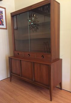 French Louis XV walnut china cabinet of the centuryFrench Louis XV walnut china cabinet of the centuryVintage American Martinsville Masonic Deco Modern Walnut China Hutch CabinetVintage American Martinsville Masonic Deco Modern Walnut China Mid Century, China Cupboard, Cherry China Cabinet, Furniture, China Cabinet, Black China Cabinet, Glass Cabinet, Modern, Breakfront