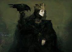Snow White and the Hunstman -Ravenna early concept by jeffsimpsonkh.deviantart.com on @DeviantArt