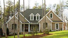 rock brick combination exterior home   exterior (brick accents not rock)   Our Dream House