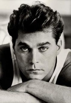 Ray Liotta in Goodfellas-wow! Famous Men, Famous People, Gorgeous Men, Beautiful People, Bad To The Bone, Most Handsome Men, Celebrity Portraits, Star Wars, Dream Guy