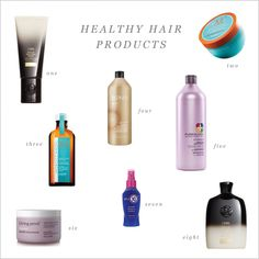 Healthy Hair Products – The Small Things Blog