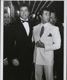 John Travolta and Sylvester Stallone