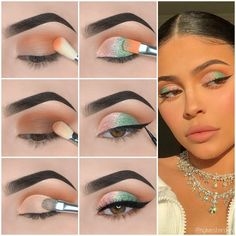 Here is Kylie Jenner Style Eye Makeup Tutorial! Here is Kylie Jenner Style Eye Makeup Tutorial! Eye Makeup Steps, Makeup Eye Looks, Eye Makeup Art, Simple Eye Makeup, Natural Eye Makeup, Smokey Eye Makeup, Halo Eye Makeup, Uk Makeup, Makeup Online