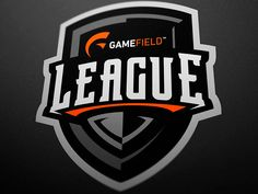 Shield Logo for Gamefield League designed by JellyBrush. Connect with them on Dribbble; the global community for designers and creative professionals. Game Logo Design, Logo Design Services, Logo Esport, Team Logo, Soccer Logo, Esports Logo, Shield Logo, Logo Food, Business Logo Design