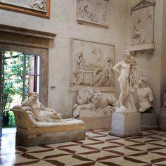 Paolina Borghese by Antonio Canova (1757-1822). Gipsoteca Possagno (Tv). MB ph.