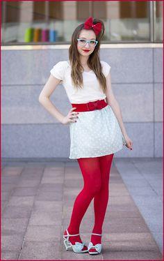 Bubble pop ♫ (by Elodie De Frise) http://lookbook.nu/look/3800805-Korean-Fashion-Dress-Bow-Belt-Dream%20V-Mint-Heartheeled