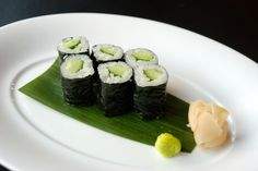 Cucumber Roll Cucumber Rolls, Bubble Tea, Lanai, Sushi, Bubbles, Low Carb, Ethnic Recipes, Food, Asian