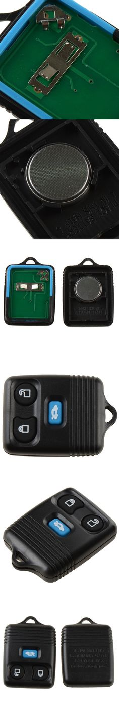 Replacement Remote Auto Key For Ford Transit MK6 2000-2006 With Battery And Chip 3 Buttons Black Car Key Replacements P28