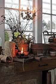 You can`t use up CREATIVITY. Scandinavian Cottage, Scandinavian Design, Romantic Cottage, Cottage Chic, Vibeke Design, Shabby Chic Garden, Shed Design, Rustic Elegance, Terracotta Pots