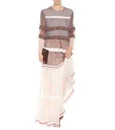 Chloé - Impresso seda chiffon vestido maxi - mytheresa.com