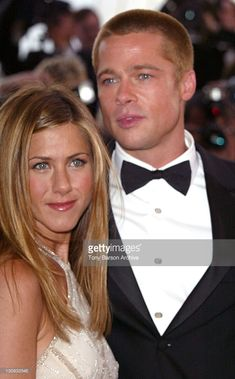 Jennifer Aniston and Brad Pitt during 2004 Cannes Film Festival