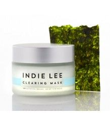 Indie lee Clearing Mask: Purify clogged pores and congested skin with this gentle yet effective detoxifying mask. Fruit acids help eliminate dead skin cells while plant extracts nourish and protect. #natural #skincare #indielee