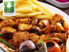 اطيب الاطباق العربية والغربية تجدونها في زيزافون#zayzafoon