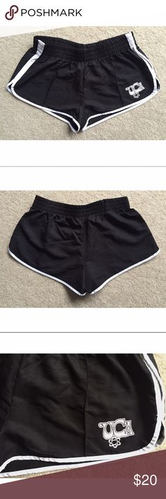 ⋙NEW LIST⋘ NWT UCA Black/White Nylon Racer Shorts Cute UCA cheer shorts Elastic stretchy waistband    New W/ Tags, never worn  Size: Small.  100% Poly   PRICE FIRM, unless bundled  ⟨10% off 2+ bundles ≫ One time shipping fee⟩ NO trades Shorts