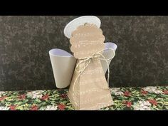 (18) Angel Treat Box or Ornament Christmas in July - YouTube