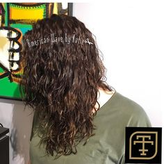 American Wave, Types Of Curls, Dreadlocks, Long Hair Styles, Instagram Posts, Beauty, Long Hairstyle, Long Haircuts, Dreads