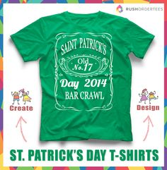 faa8904d2 28 Best St. Patrick's Day T-Shirts images | Shirt designs, Custom ...