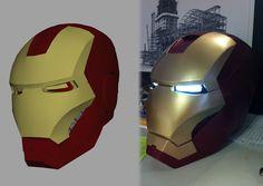 Ryan Brooks, que se hace llamar a sí mismo 'el verdadero Tony Stark', ha creado mediante programas informáticos e impresión tridimensional una réplica casera del casco de Iron Man que está haciendo furor en Youtube y las redes sociales, ya que hasta dispone de luces y sonido y de un mecanismo que permite su apertura y cierre de forma automática. Según su testimonio,el diseño inicial del casco fue hecho por impresión 3D e incluye una parte móvil que sirve para introducir fácilmente la cabeza…