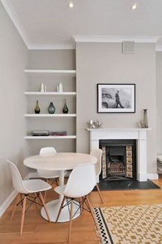 Shelves Next To Fireplace Design Ideas, Pictures, Remodel and Decor