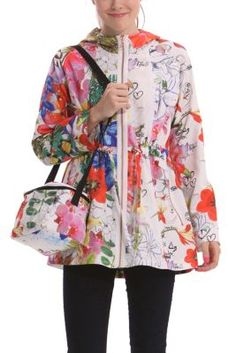 Desigual damen jacke chaq_magic blue coat