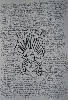What's On My Mind journal page - take a load off....write it down. [Honestly, it really works to jot down your feelings. It helps to get your thoughts in order - to clear the way so you can move forward.- and to prioritise what's important and for you to cast aside/let go of, troubling things of the past which are stifling your life. ;) Mo] More
