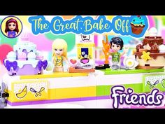 Lego Friends Baking Competition Build - YouTube