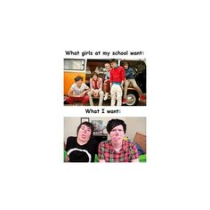 Phil and Dan ❤ liked on Polyvore featuring youtubers, dan and phil and pictures
