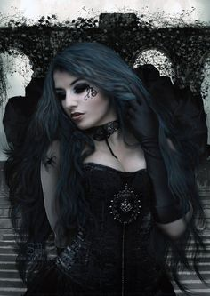 Victorian and Victorian goth fashion and items Estilo Rock, Goth Beauty, Dark Beauty, Gothic Steampunk, Victorian Gothic, Steampunk Clothing, Gothic Lolita, Gothic Angel, Gothic Mode