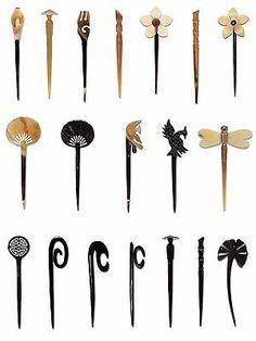 Buffalo Horn Hair Stick Hair Tie Head Pin Organic Jewelry Vietguild Made Vietnam