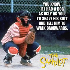The Sandlot \\ funny quotes!