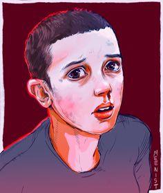 #StrangerThings Eleven. By MEENIST 17