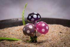 Fairy Garden or Terrarium Mushrooms Fairy by FairyRingsTinyThings
