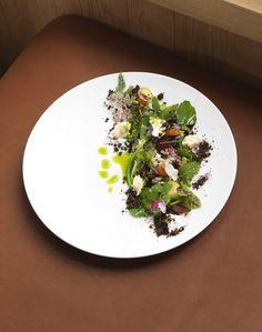 Les pousses et les racines - Domaine des Etangs #gastronomie #france #sprouts #roots
