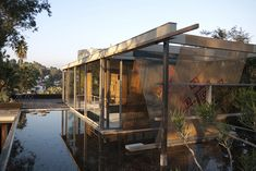 Richard Neutra's VDL House in Silver Lake has been fitted with a new rooftop installation called Fort da Sampler, by Mexico City-based artist Santiago Borj